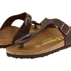 Birkenstock Gizeh; 37/US 6 Brown